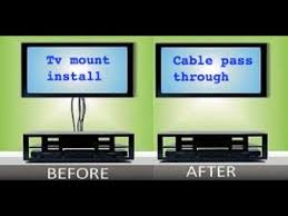 tv wall mount electrical wire