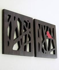 contemporary wood wall sculptures