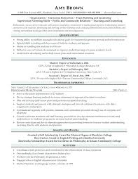 Post Graduate Resume Sample Resume Samples Post Graduate Student Cv