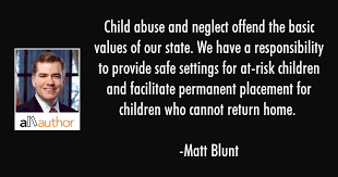 Child Abuse Quotes Enchanting Child Abuse And Neglect Offend The Basic Quote