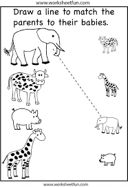 Coloring : Animalles For Preschoolers Animals Sorting By Size ...