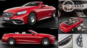 Gallery of 45 high resolution images and press release information. Mercedes Benz S650 Cabriolet Maybach 2017 Pictures Information Specs