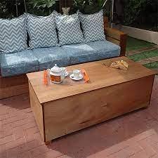 marine plywood outdoor storage
