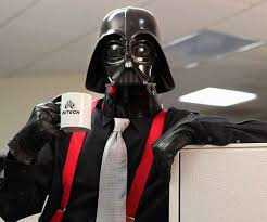 office coffee cups. darth vader drinking a cup of coffee in the office cups t
