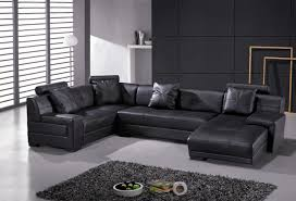 modern leather sofa bed. Modren Leather Modern Leather Corner Sofa With Genuine Sectional Living Room  Sofas Inside Leather Sofa Bed