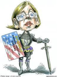 Image result for elizabeth warren cartoons