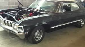 67 impala 4 door hardtop Supernatural Impala clone project - YouTube