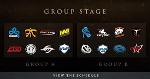 the group stage dota 2