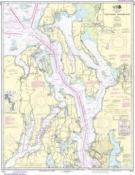 Noaa Nautical Chart 18441 Puget Sound Northern Part