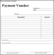 Free Payment Voucher Template Excel 0 Reinadela Selva