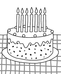Coloring Page Disney Birthday Cake Coloring Page Amazing Free