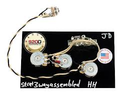 custom 3 way wiring harness fender stratocaster strat hh reverb 3 Way Strat Wiring Harness custom 3 way wiring harness fender stratocaster strat hh dual humbuckers new Fender Strat Wiring Harness