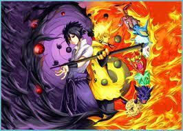 Naruto Vs Sasuke' Poster By Nice Pictures Displate In 7 - Naruto Sasuke  Wallpaper
