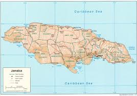 jamaica maps  perrycastañeda map collection  ut library online