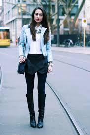 pale blue zara leather jacket