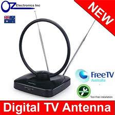 tv indoor antenna. greentek uvr-av185 indoor amplified antenna for digital hd tv country brand new tv