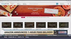 Amazon Launches Free Houston Restaurant Delivery For Prime Users ...