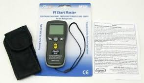 R508b Refrigerant Pt Chart Details About Supco Rpt61 Pt Chart Master Digital Refrigerant Pressure Temperature Chart