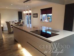 contemporary kitchen completed in bathgate