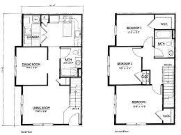 2 y house floor plan simple