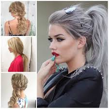 Pony Tail Hair Style messy ponytail hairstyle for 2017 haircuts and hairstyles for 5340 by wearticles.com