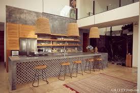 Balinese Kitchen Design Tour Lindy Klim And Adam Ellis Airy Balinese Home