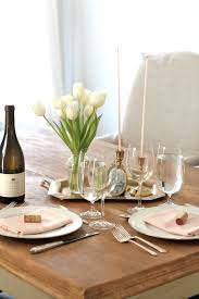 valentines day table setting