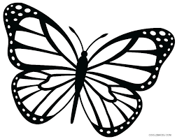 Coloring Pictures Of Butterflies Butterfly Coloring Pages Butterfly