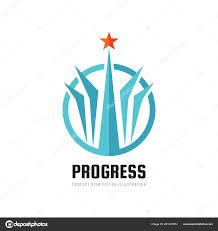 Start Logo Design Progress Abstract Vector Logo Design Elements Star Sign
