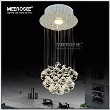 meerosee mini small crystal ceiling light fixture flush mounted crystal lamp re stairs porch aisle hallway corridor light md2592 ceiling light small
