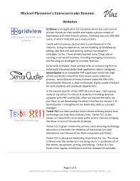 file michael plasmeier extracurricular resume pdf theplaz com