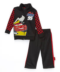 Lighting Mcqueen Pajamas This Black Lightning Mcqueen Jacket Pants Infant