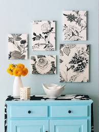 better homes and gardens on fabric wall art diy with diy ideas using fabric for wall art apartment therapy