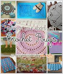 free crochet rug patterns for indoors and out