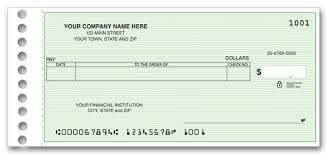 Personal Accounting System Check Without Address Lines