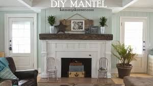 Railroad Tie Mantle kammys korner beautiful built mantel from scraps fireplace 2 7272 by xevi.us