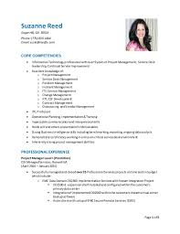 Suzanne Reed RESUME - PM. Page 1 of 5 Suzanne Reed SugarHill, GA 30518  Phone:(770) 833 ...