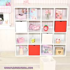ikea miniature furniture.  Miniature IKEA CUBE BOX MINIATURE DISPLAY SHELF STAND FOR DOLLHOUSE DIORAMA BJD  PUKIFEE LATI YELLOW FURNITURE 112  Fleurdelysdoll With Ikea Miniature Furniture