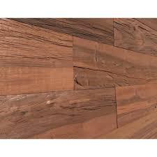 wood wall panel board cool wood wall. 1/4 In. X 5 2 Ft. Brown Reclaimed Smart Wood Wall Panel Board Cool O