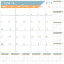 12 Week Calendar Template German Planning Calendar 2019 English Calendar Template For