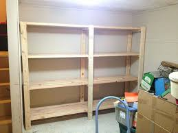 large size of shelves build your own garage storage shelves diy in how to and