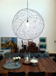 diy string chandelier lamps that will brighten view in gallery wire hanging lamp diy string ball
