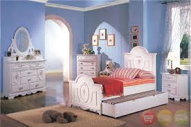Sophie Girls White Traditional Twin Bedroom Set