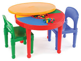 compatible furniture. Plain Compatible Tot Tutors Kids 2in1 Plastic LEGOCompatible Activity Table And 2 Chairs  Set Throughout Compatible Furniture