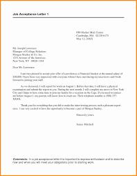 Employment Acceptance Letter Job Acceptance Letter Employment Cool 24 Employment Acceptance Letter 19