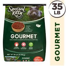 Bright Lights Big Kitty Poster Special Kitty Gourmet Formula Dry Cat Food 35 Lb Walmart Com