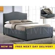 Cheap Storage Beds Grey King Size Storage Bed Cheap Storage Beds ...