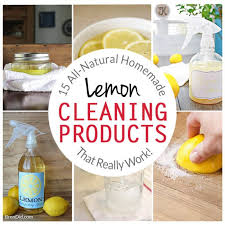 homemade lemon cleaning s all natural lemon cleaners how to clean with lemons