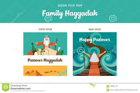 Family Story Book Template Passover Haggadah Design Template Haggadah Book Covers The