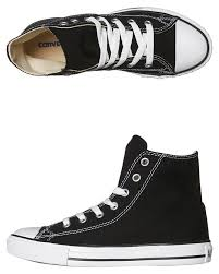 converse all star high tops. black kids boys converse sneakers - 3j231blk converse all star high tops